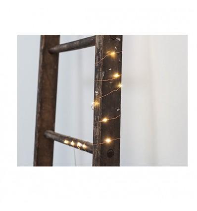 copper mini guirlande led fil cuivr. Black Bedroom Furniture Sets. Home Design Ideas