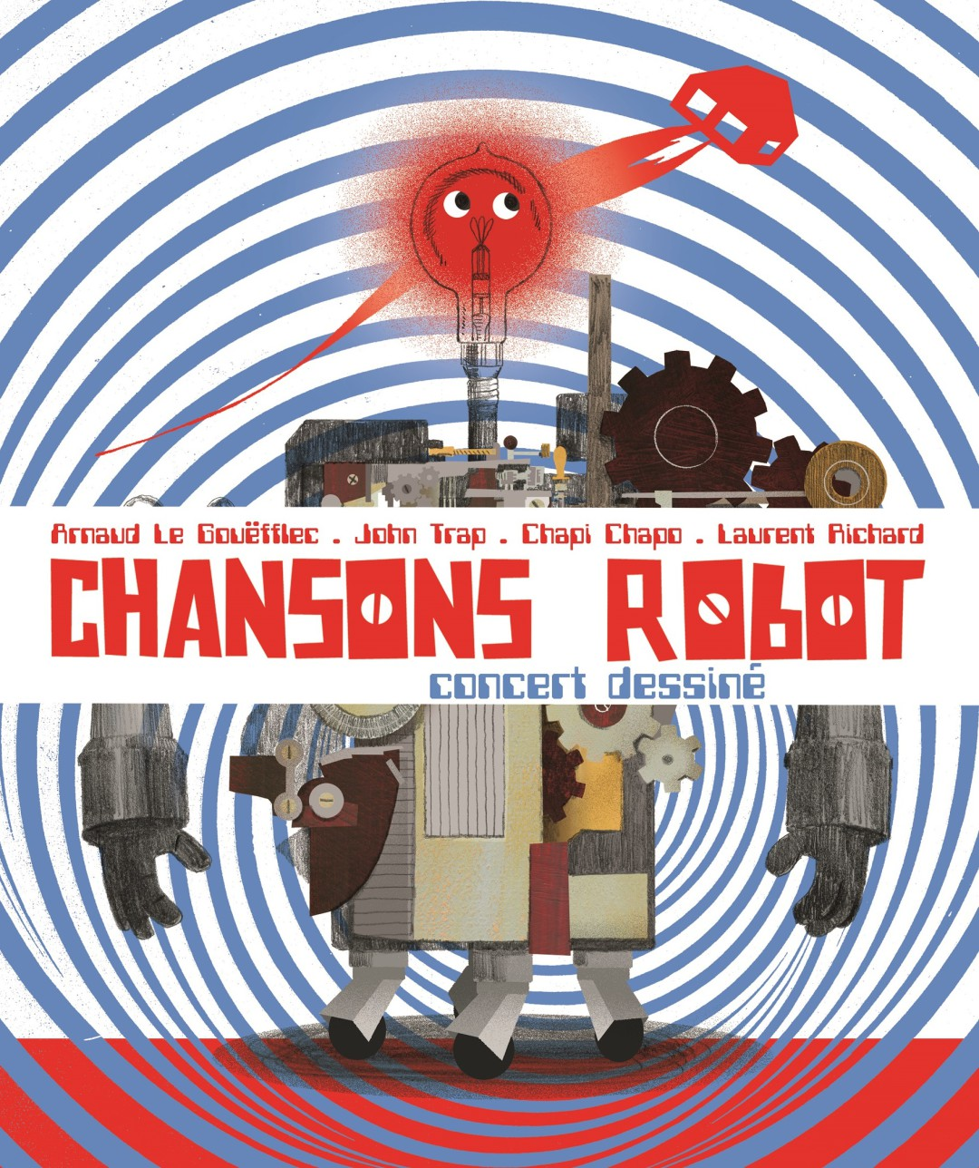 visuel chansons robot HD