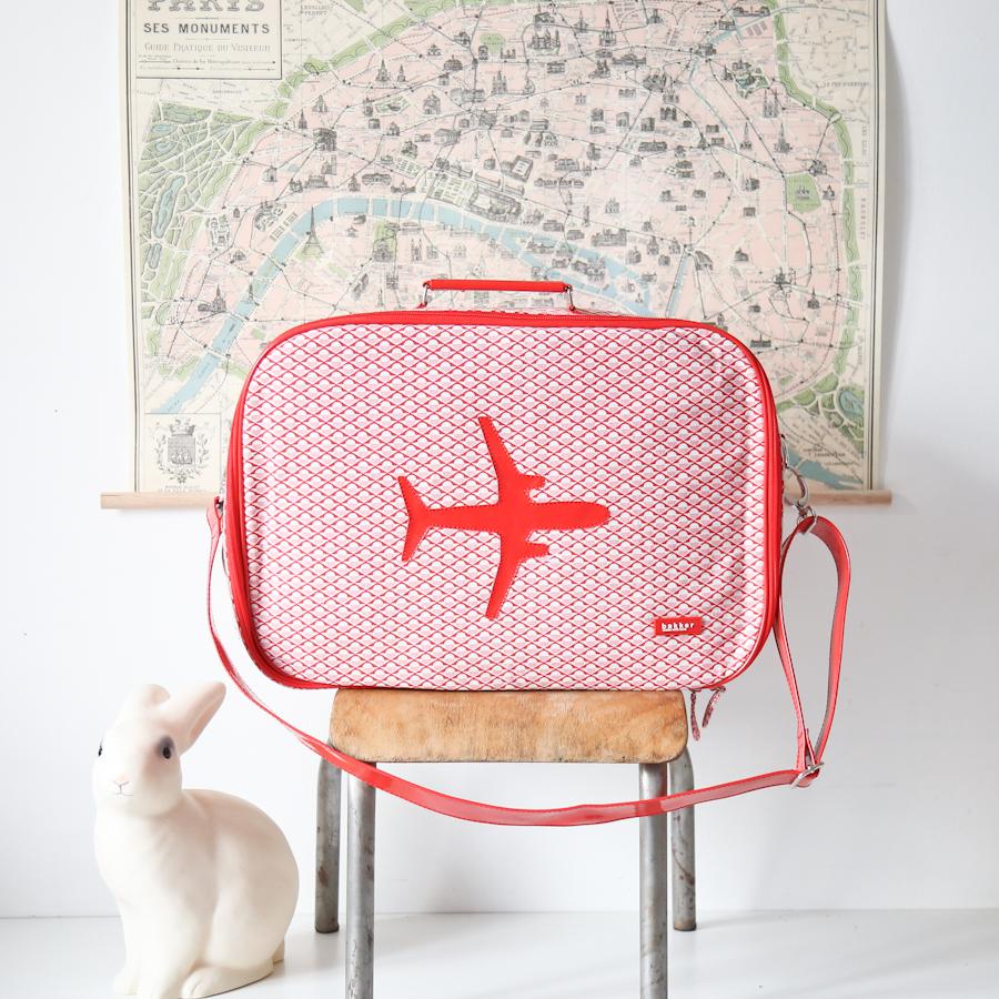 valise avion bakker