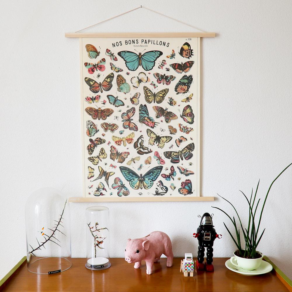 le porte affiche aimant de chez thabto le blog de l. Black Bedroom Furniture Sets. Home Design Ideas
