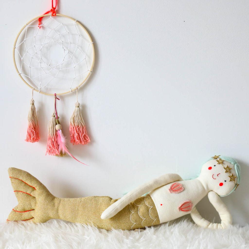 sirène tricot meri meri