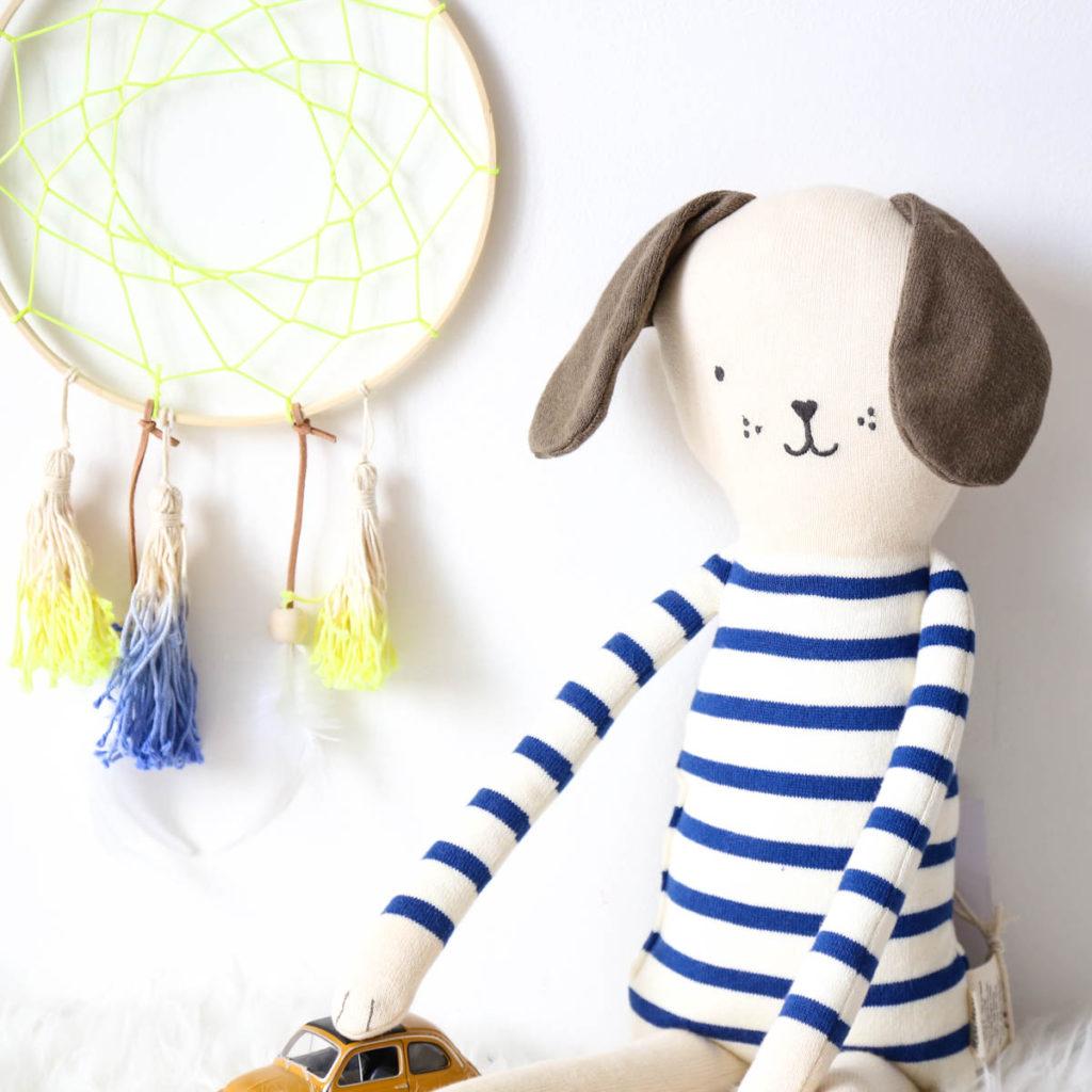 chien tricot