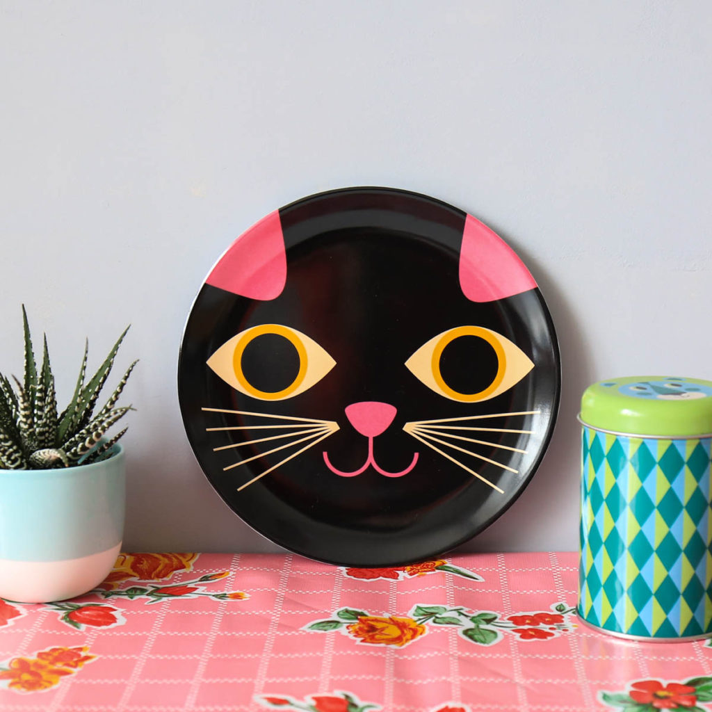 assiette chat Ingela P Arrhenius omm design