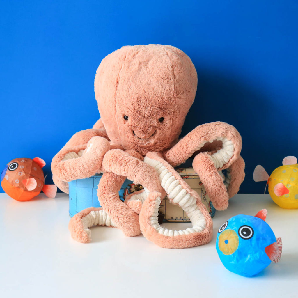 peluche pieuvre jellycat