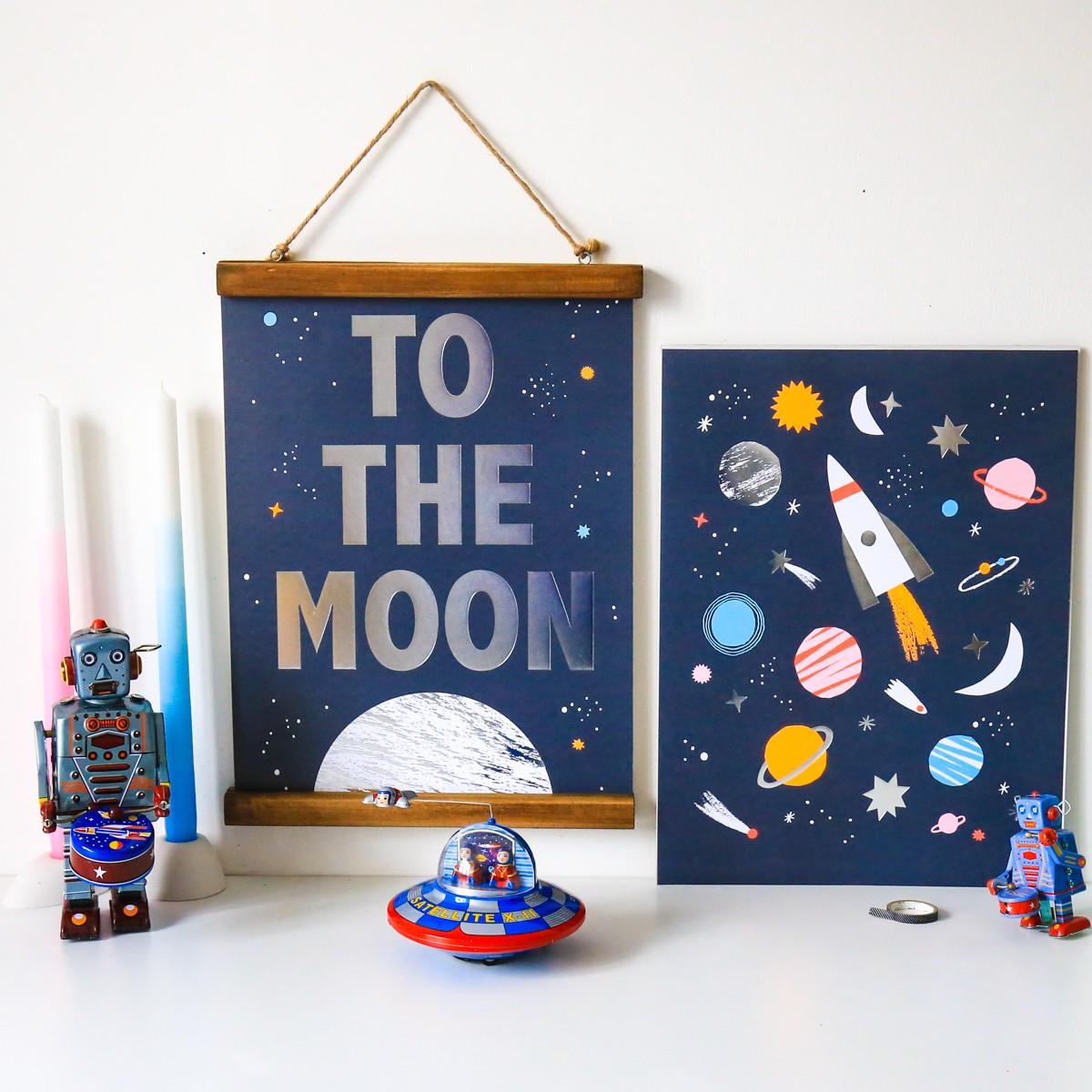 Déco chambre enfant bébé - jeux et jouets - design vintage