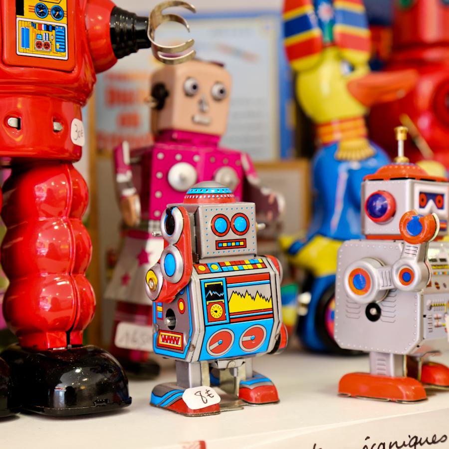 robots vintages